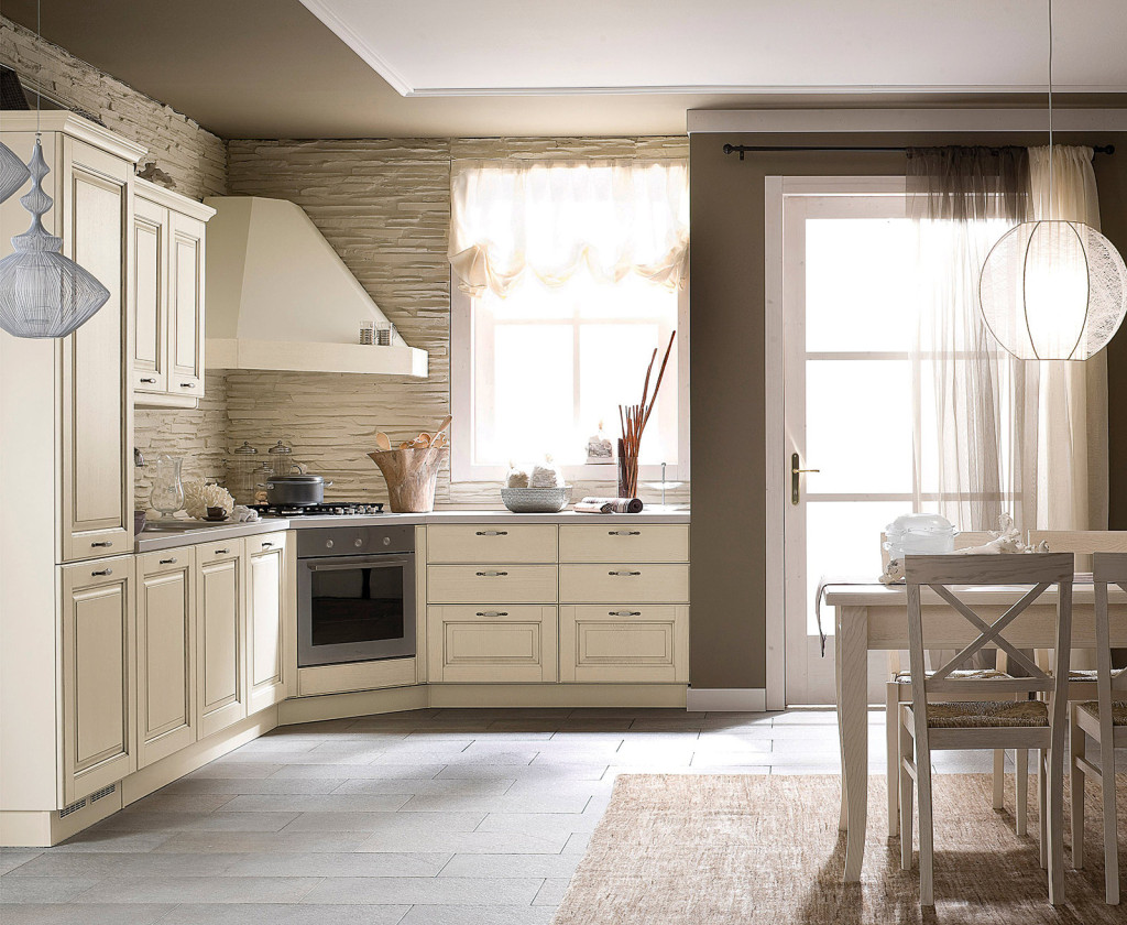 Veneta cucine modello Memory angolare