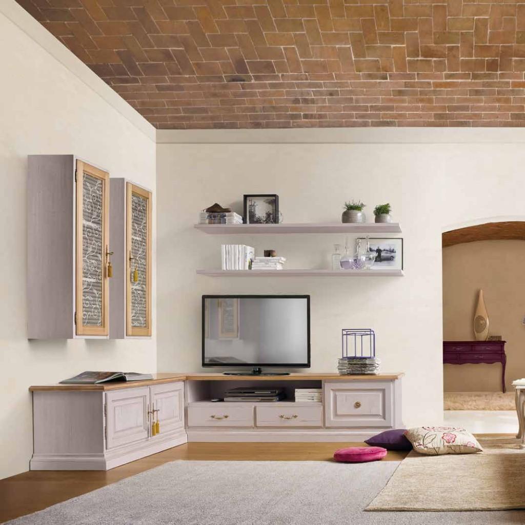 Soggiorno classico colore beige creta Tonin casa e altri ...