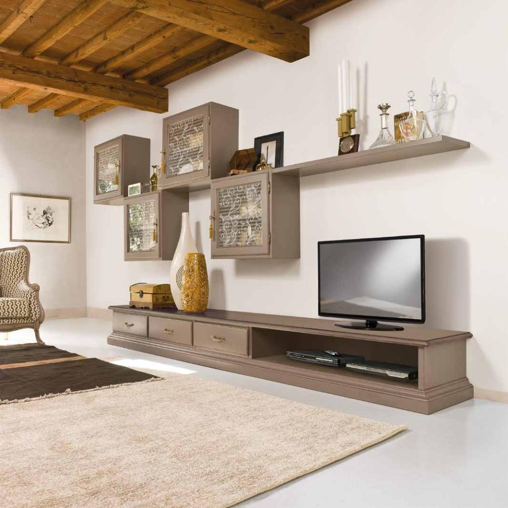 soggiorno componibile classico finitura glamour TONIN CASA