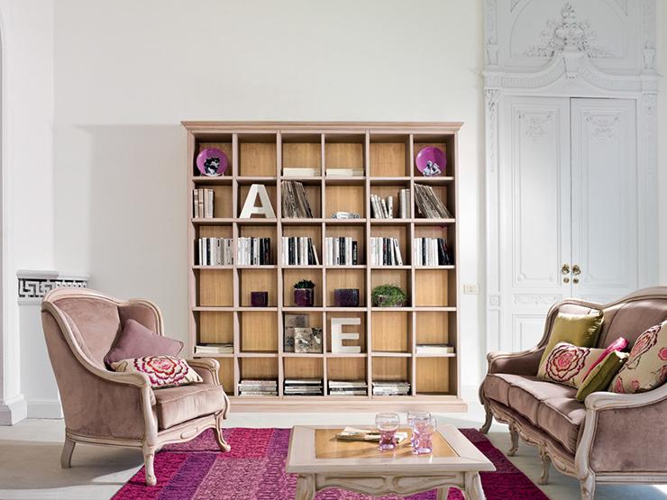 libreria ALEXANDER classico Tonin casa
