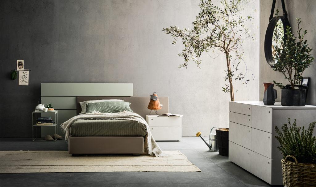 letto skipp una piazza e mezzo rivestimento tessuto sfoderabile