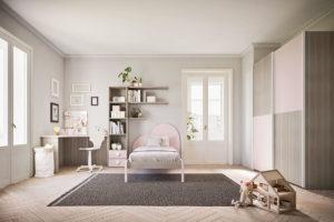 letto legno a cuore