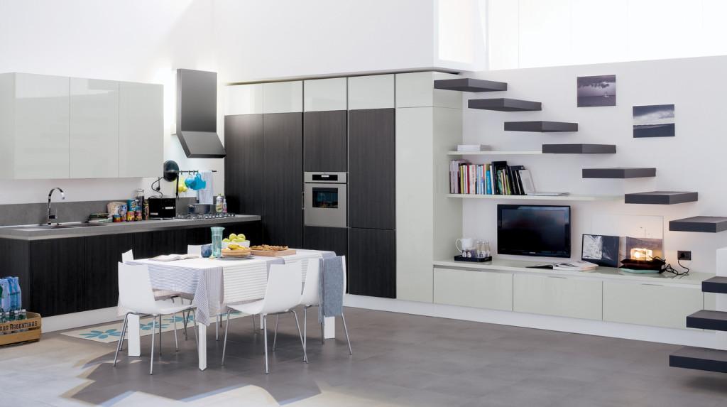 veneta cucine Carrera go Colore grigio