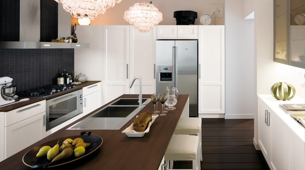 Veneta cucine modello gretha rosso e bianco - Veneta cucine gretha ...