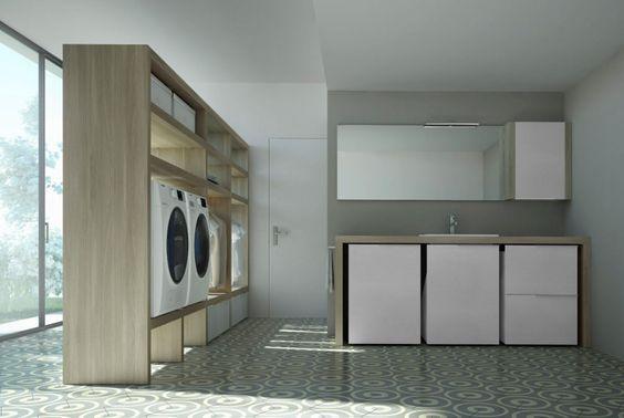 lavanderia in garage o taverna