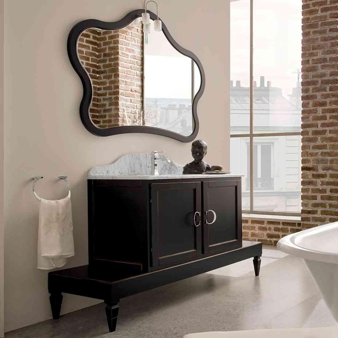 Bagno york cerasa linea classico colore nero