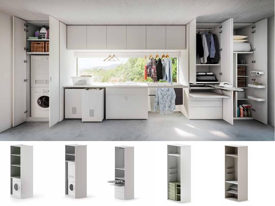 Mobili per angolo lavanderia design casa creativa e - Mobili per lavanderia di casa ...