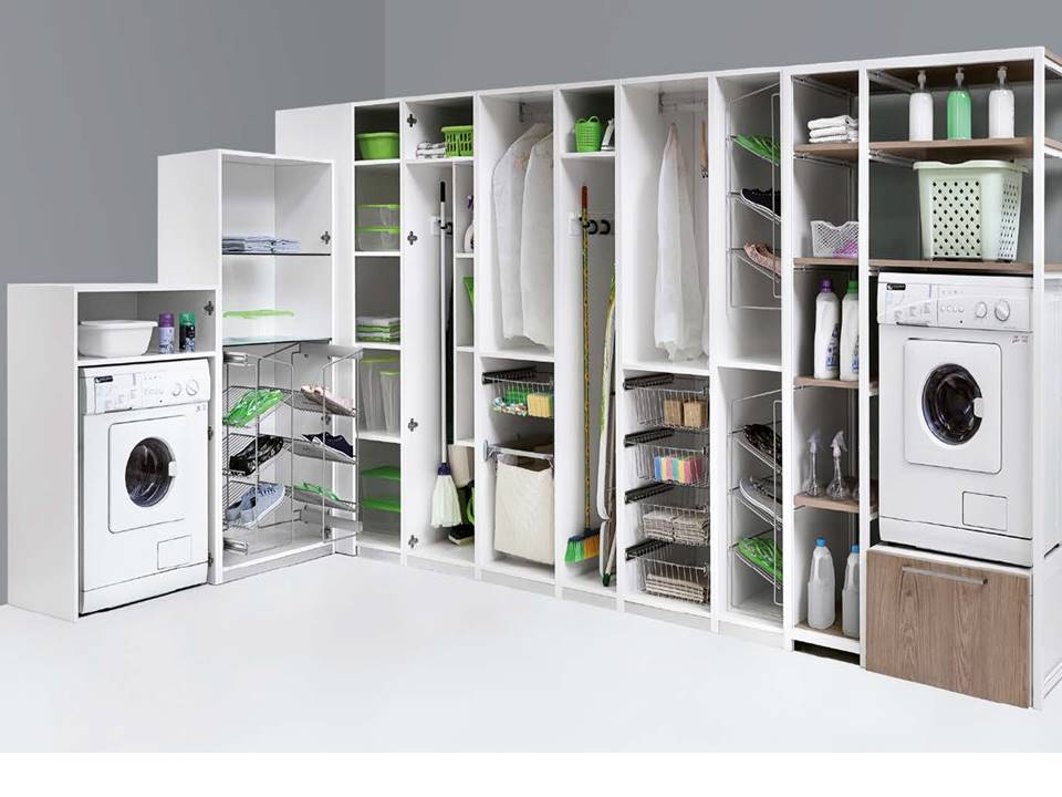 Estremamente Mobile lavanderia stireria anche su misura TQ91
