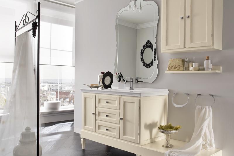 Bagno classico modello york cerasa bagni - Mobile da bagno classico ...