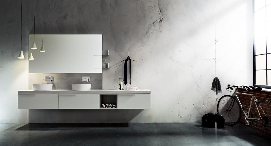 bagno play cerasa piano effetto cemento