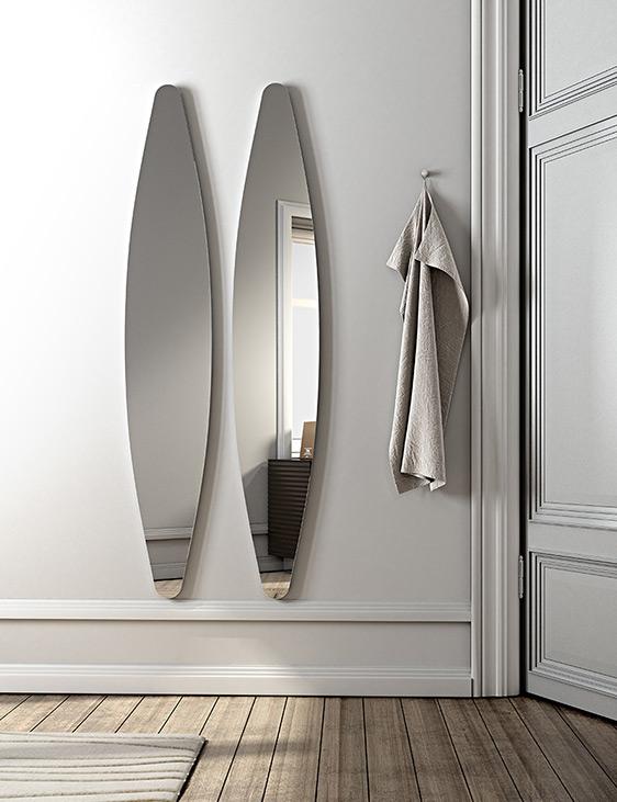 specchio ovale modello Dioscuri by Riflessi