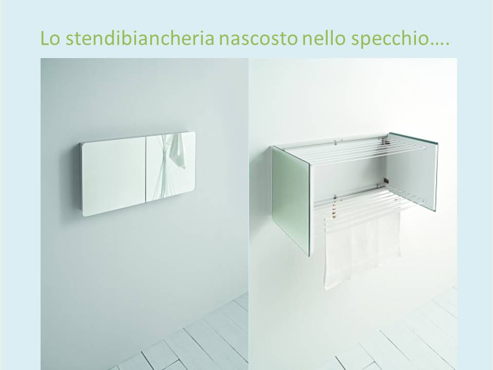 specchio stendibiancheria