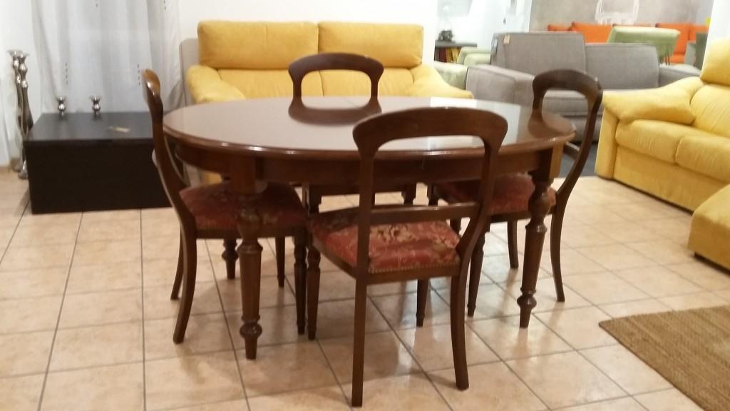 tavolo ovale classico