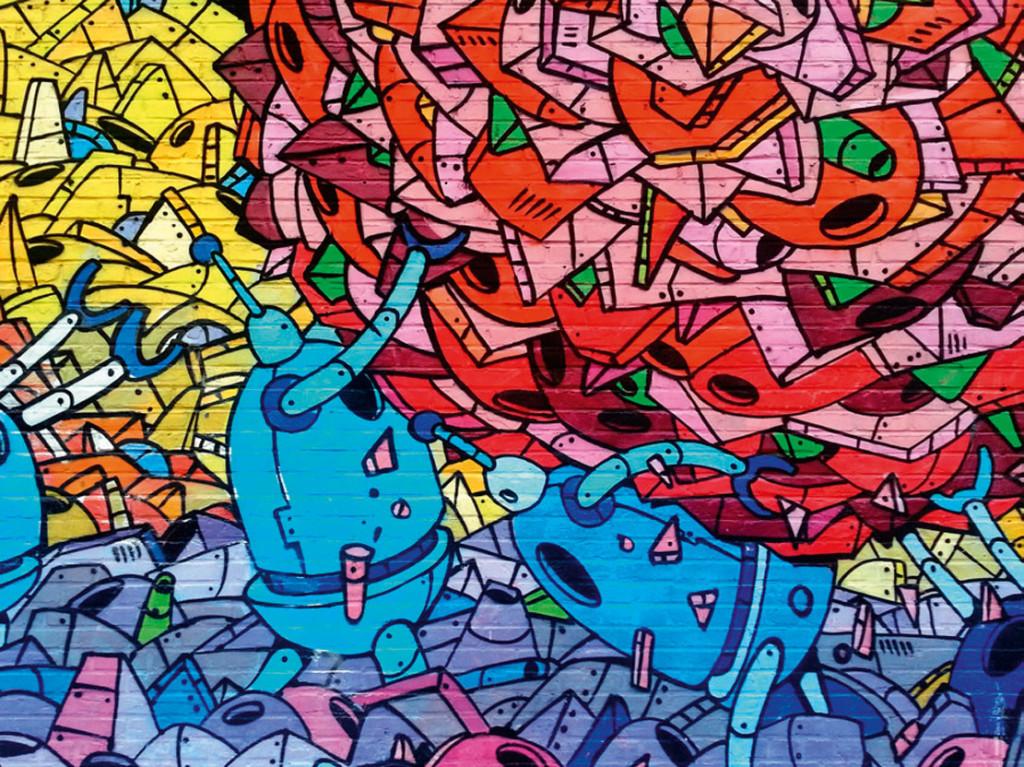 tappezzeria murales graffiti