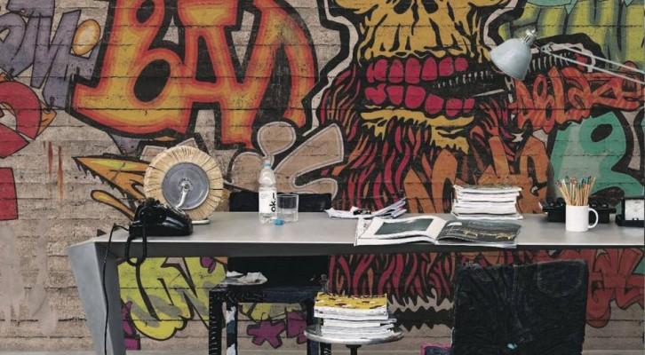 Carta da parati Graffiti Murales per giovani e non solo