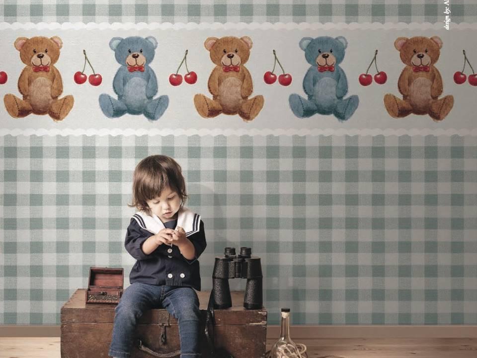 tappezzeria camera dei bambini