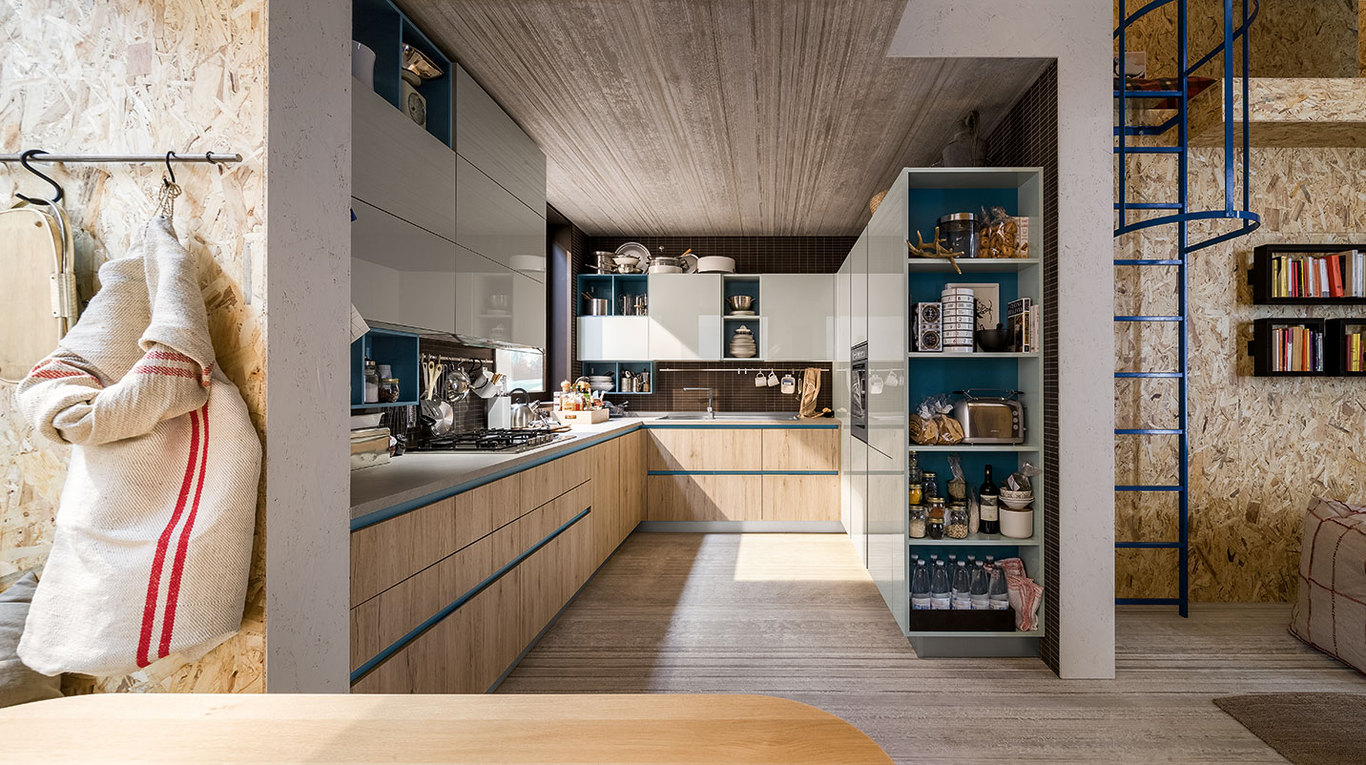 Veneta Cucine modello Start Time .. la cucina giovane, dinamica, BELLA!!