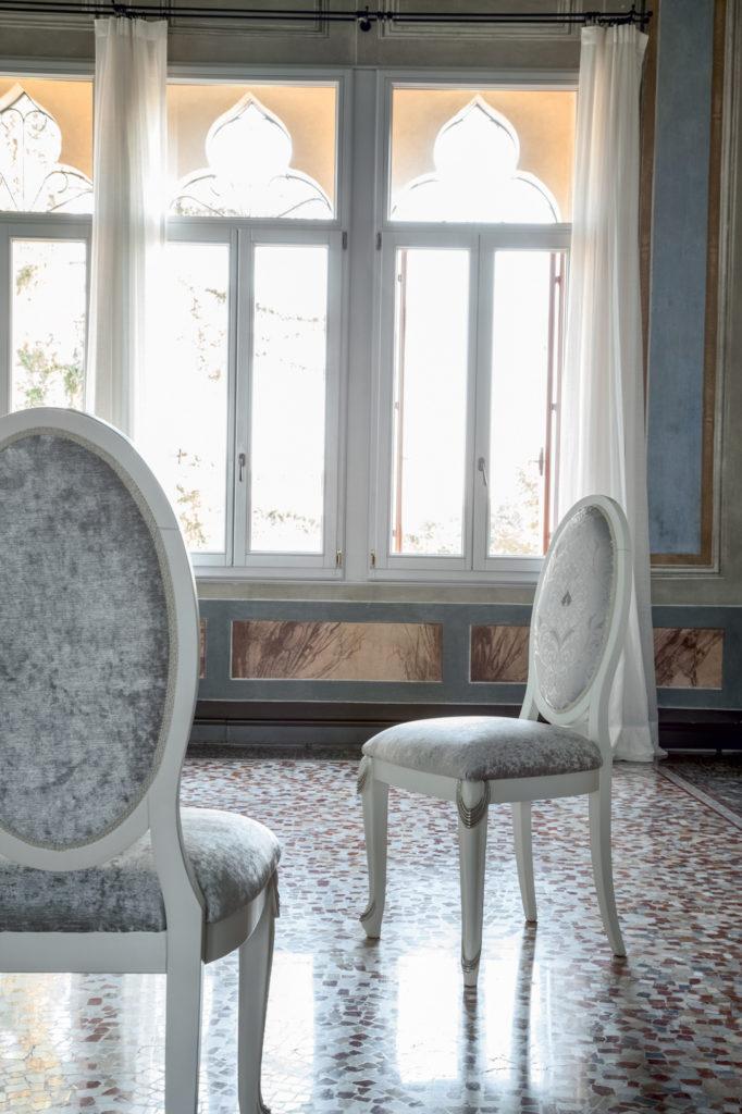 Sedia stile classico modello Partenope