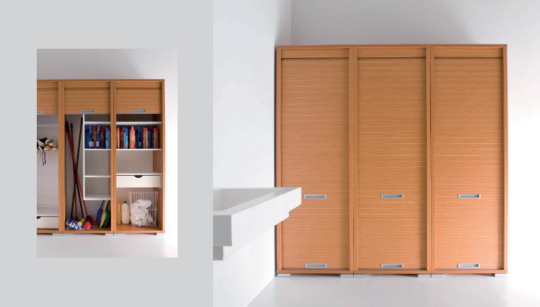 armadio a serrandina ideale per spazi piccoli e per tutti quegli ...
