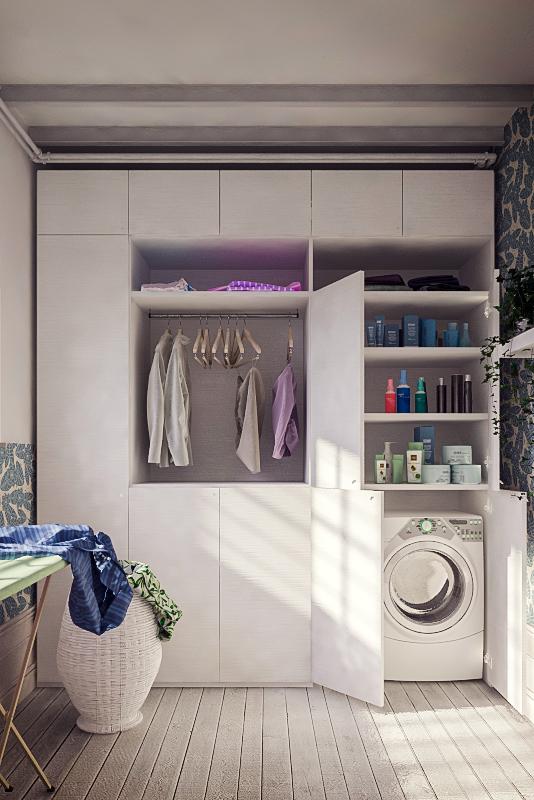 armadio lavanderia /guardaroba