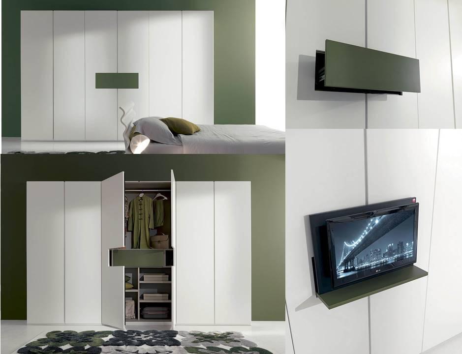 meccanismo armadio porta tv -