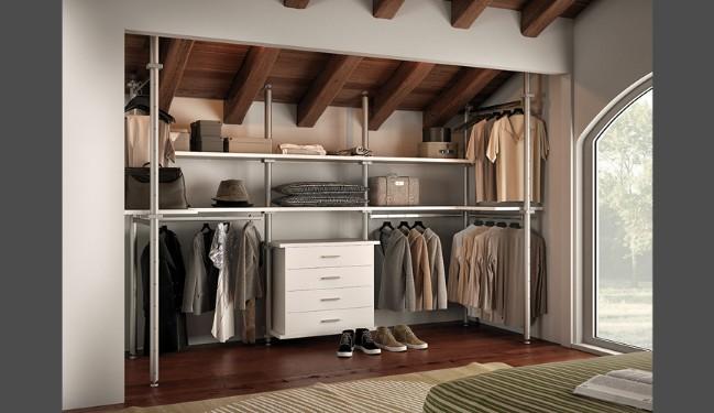 Cabina armadio un angolo tutto da creare su misura - Soluzioni per cabine armadio ...