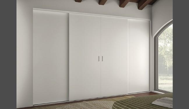 Cabina armadio un angolo tutto da creare su misura - Porte scorrevoli per cabina armadio ...