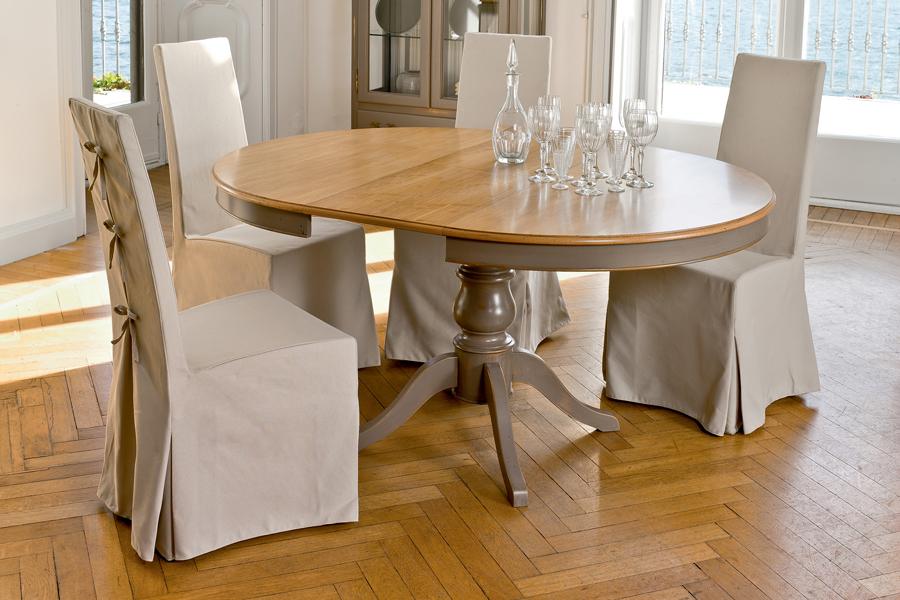 Arago il tavolo tondo allungabile