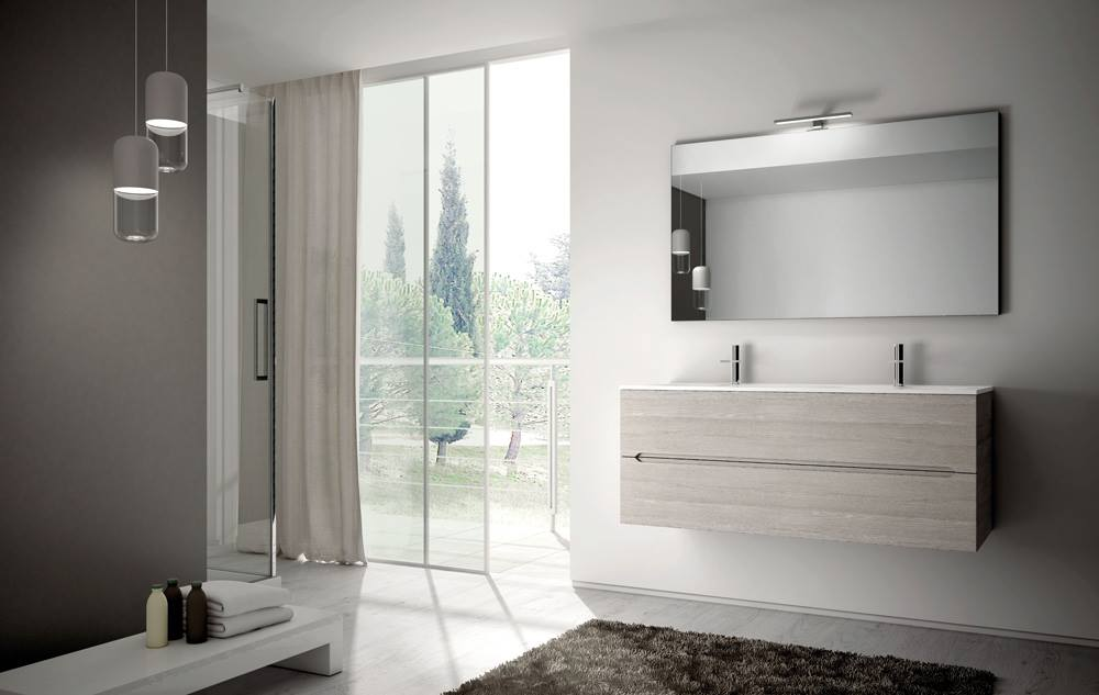 Bagno doppio lavandino e doppio specchio - Idea mobili bagno ...