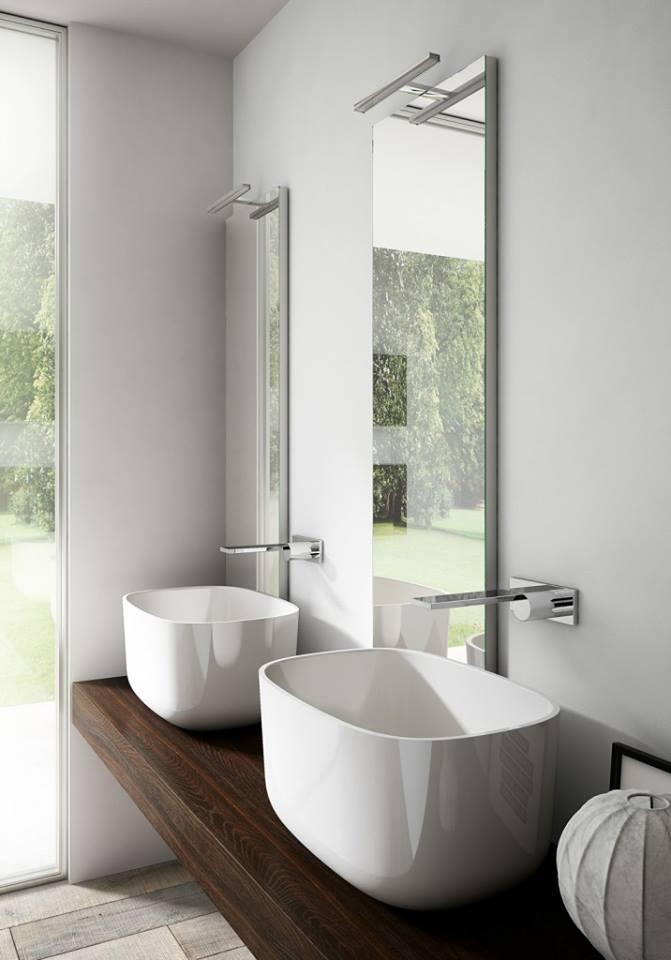 due lavandini bagno