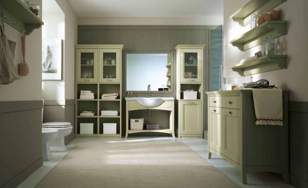 Arredamento in legno massello camere camerette - Arredamento bagno stile provenzale ...