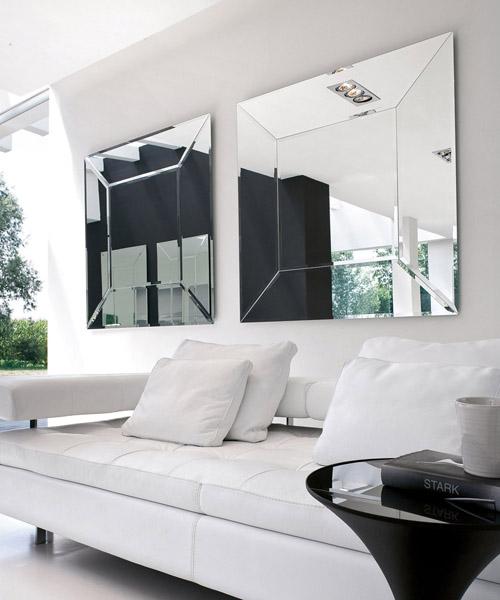 specchio moderno Costantia Tonin Casa rettangolare o quadrato.