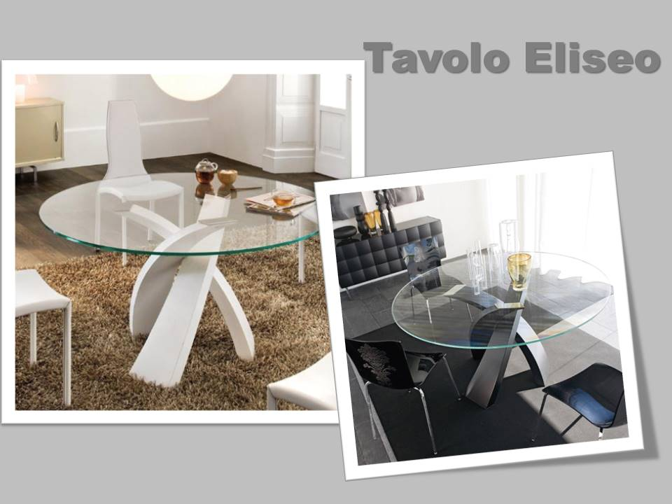 tavolo modello Eliseo Tonin casa