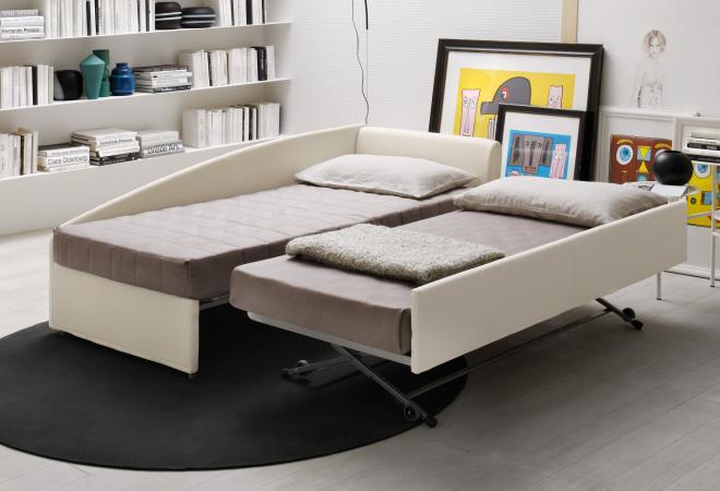 divano camaleo con secondo letto