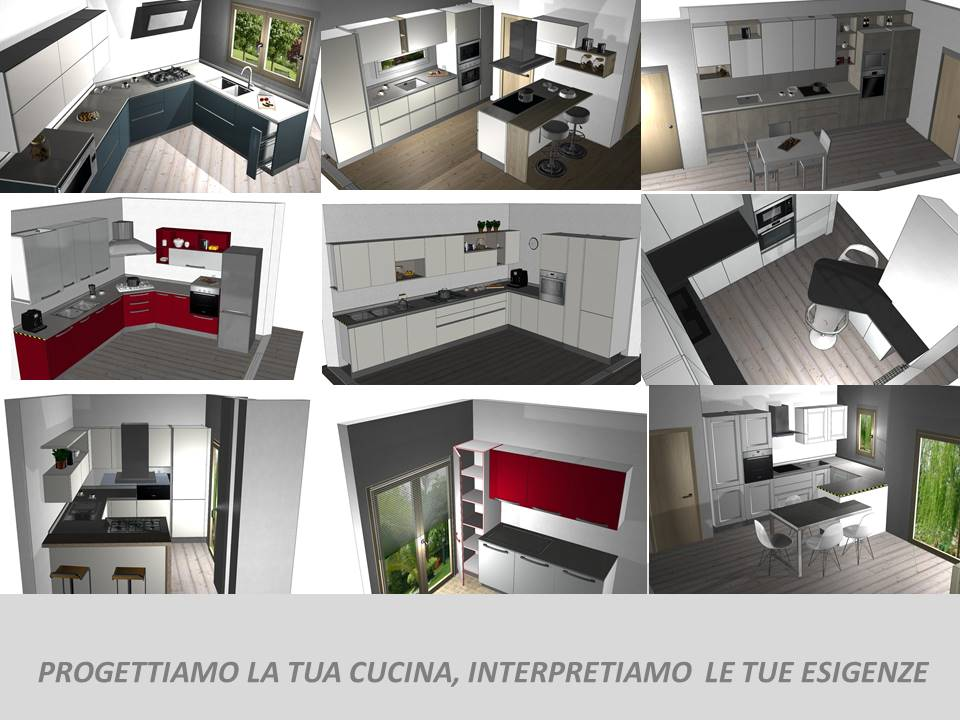Modelli 3d Veneta Cucine.Disegni Veneta Cucine