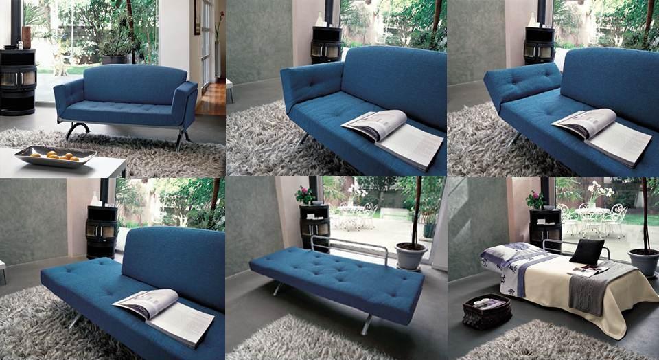 Letti pieghevoli pouff trasformabili paggetto divani e - Divano letto piccole dimensioni ...