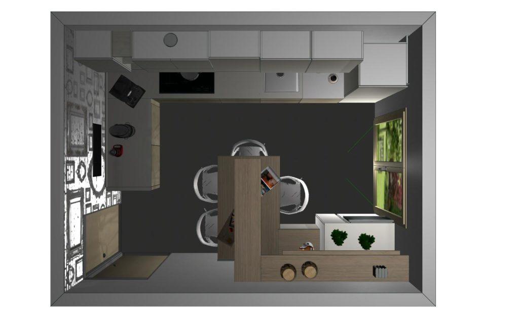 progetto cucina Domus arredi