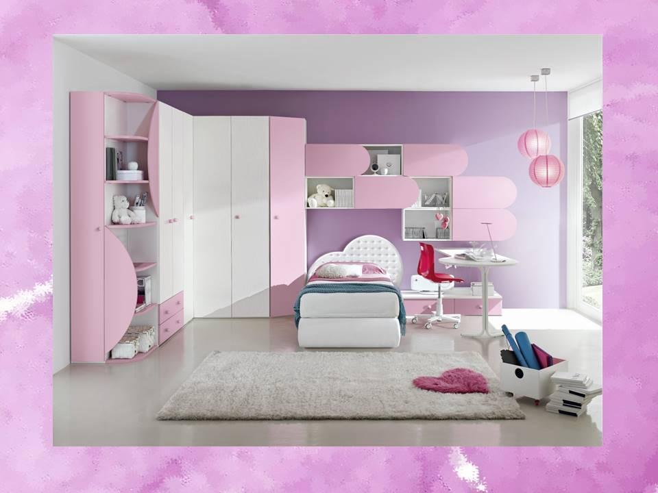 Cameretta per bambina le idee migliori per arredare for Cameretta rosa