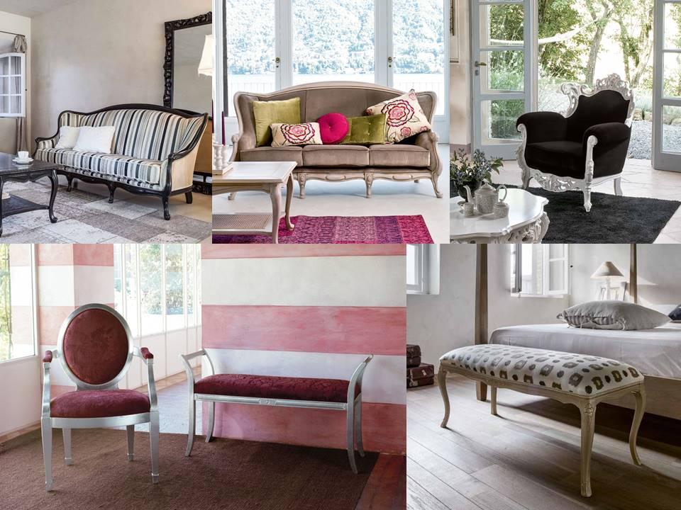 i divani e le poltrone classiche Tonin casa