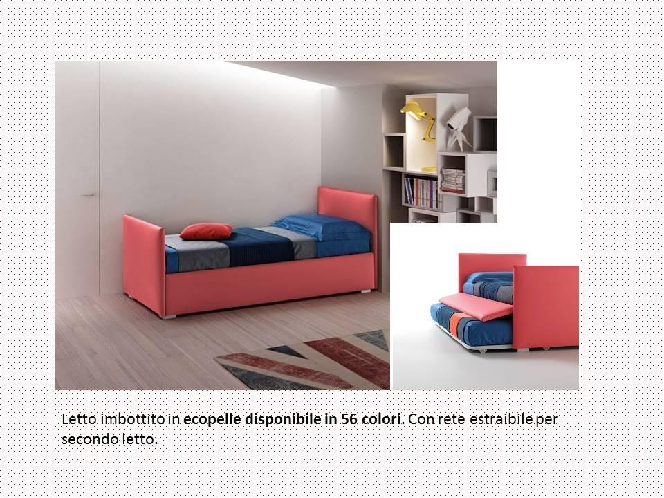 Cameretta per bambino letti contenitore oppure con secondo letto - Letto con secondo letto estraibile ...