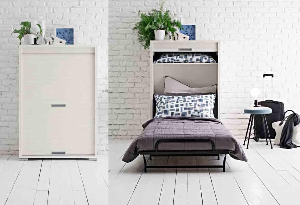 Letti pieghevoli pouff trasformabili paggetto divani e for Mobile letto ikea