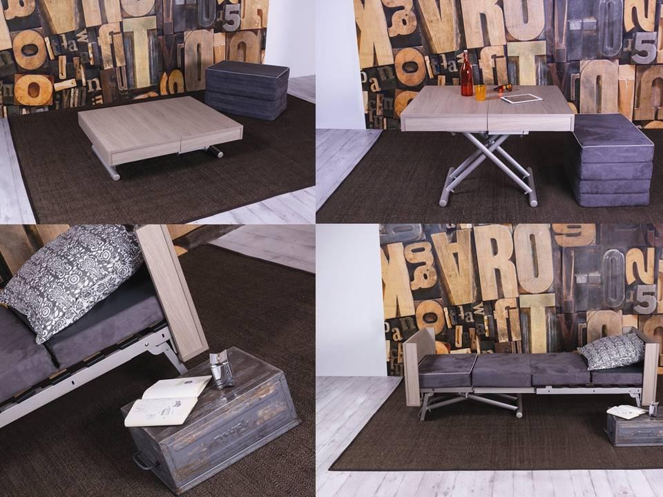 letti pieghevoli, pouff trasformabili, divani a letto salvaspazio
