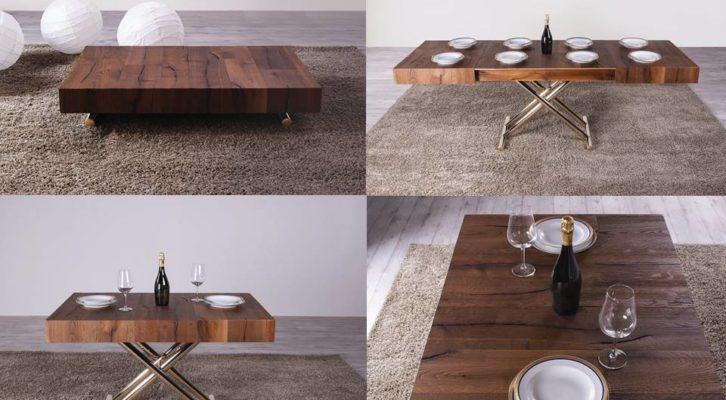 Tavolini trasformabili da tavolino in tavolo