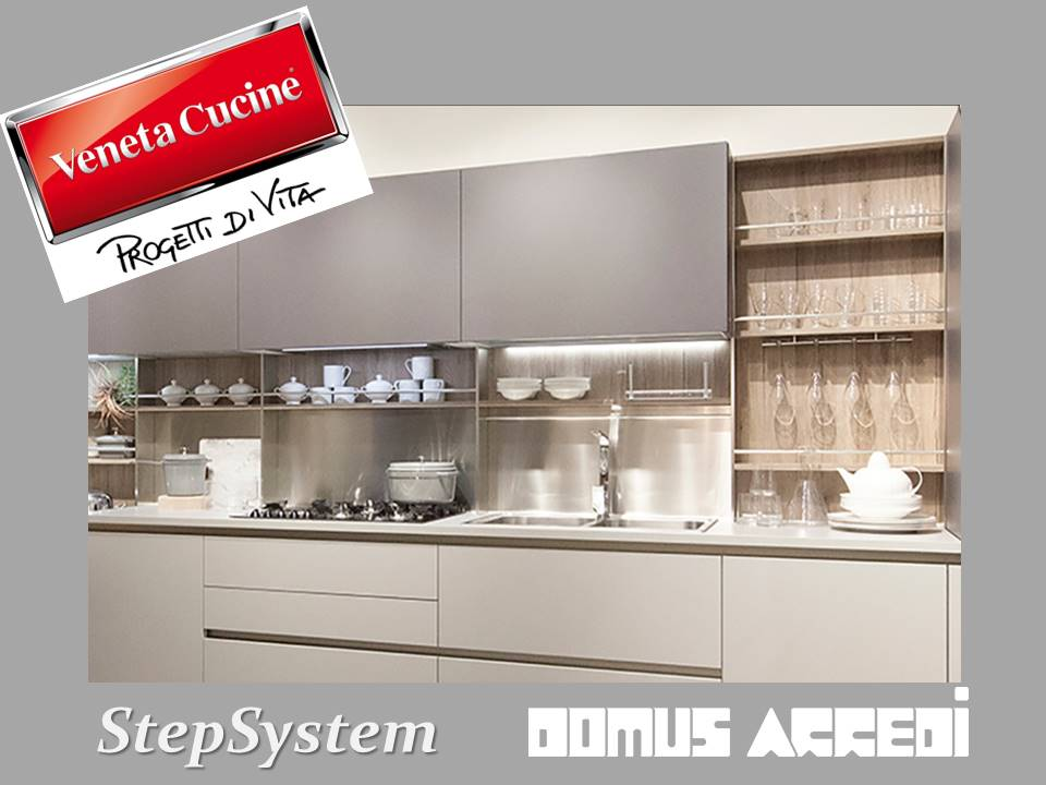 Veneta Cucine presenta StepSystem vieni a vederlo da Domus arredi ...