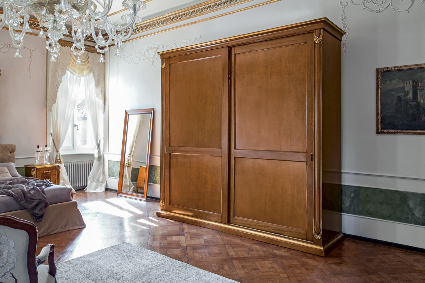 Tutti i complementi notte in stile classico di tonin casa - Camere da letto stile barocco ...