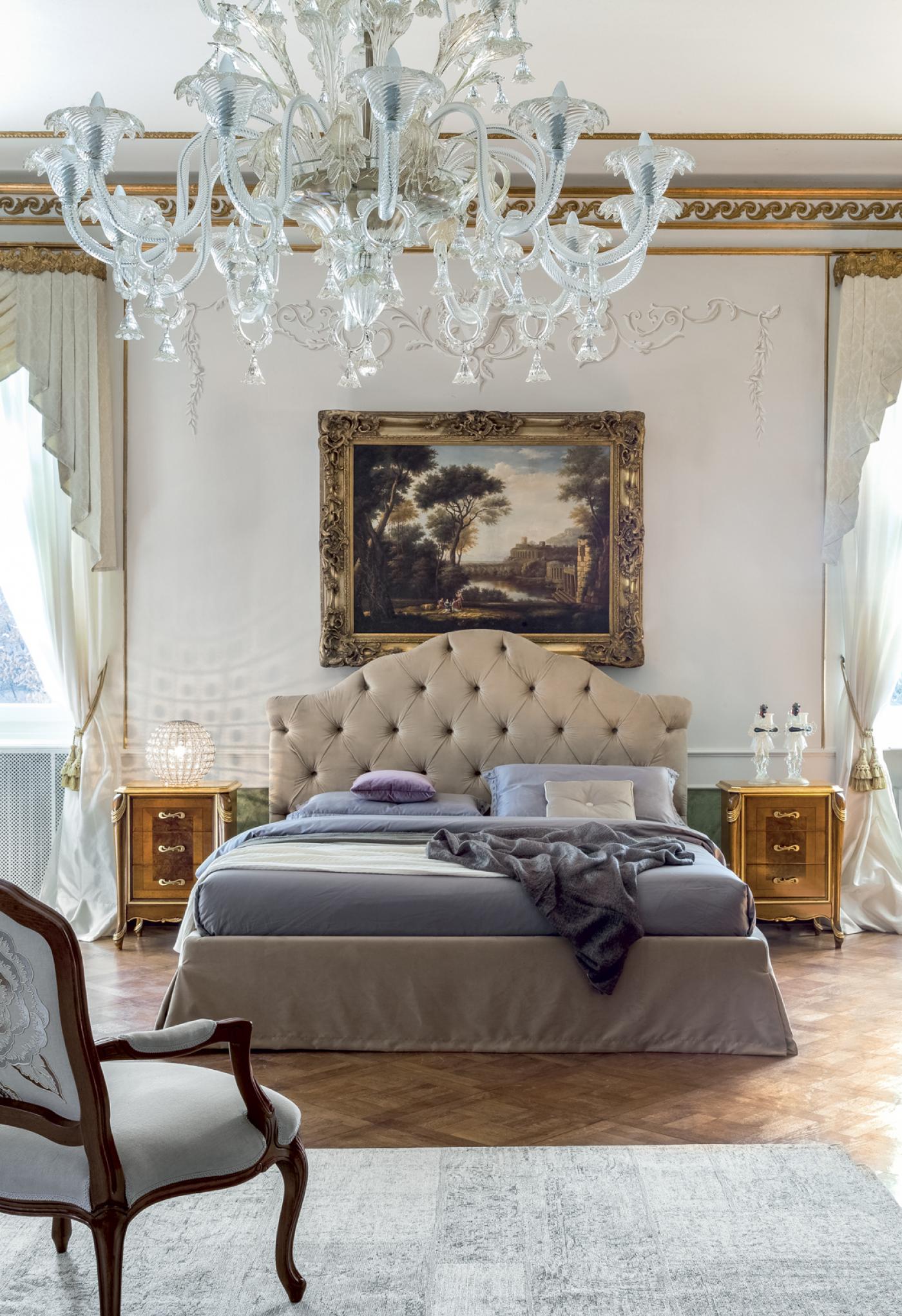 Letti in stile classico l 39 eleganza in camera da letto - Stile camera da letto ...