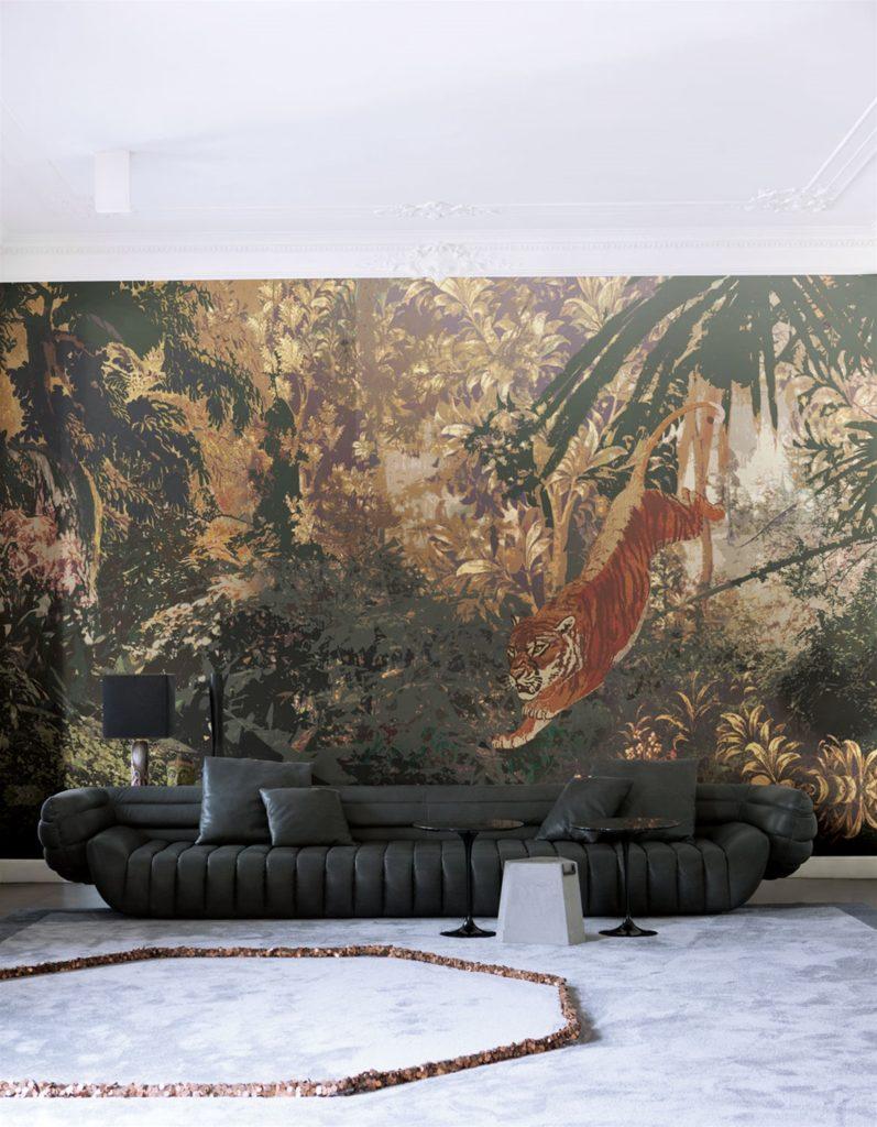 Tappezzeria giungla