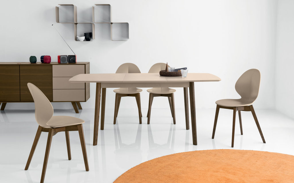 Cream Table di Calligaris
