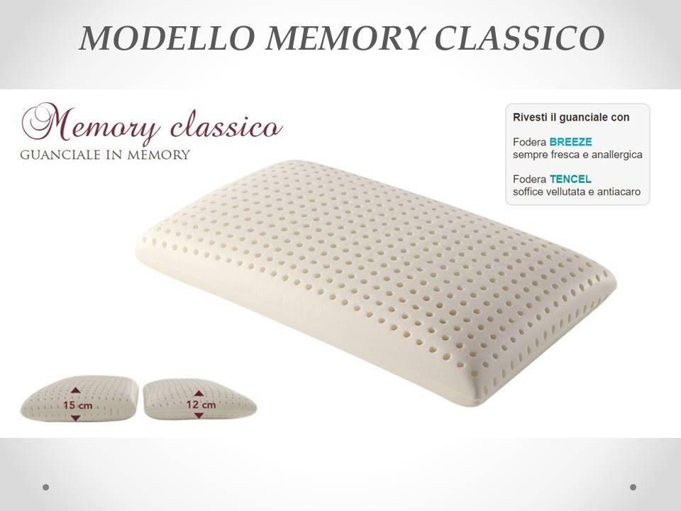 Guanciale memory classico Sogno Veneto