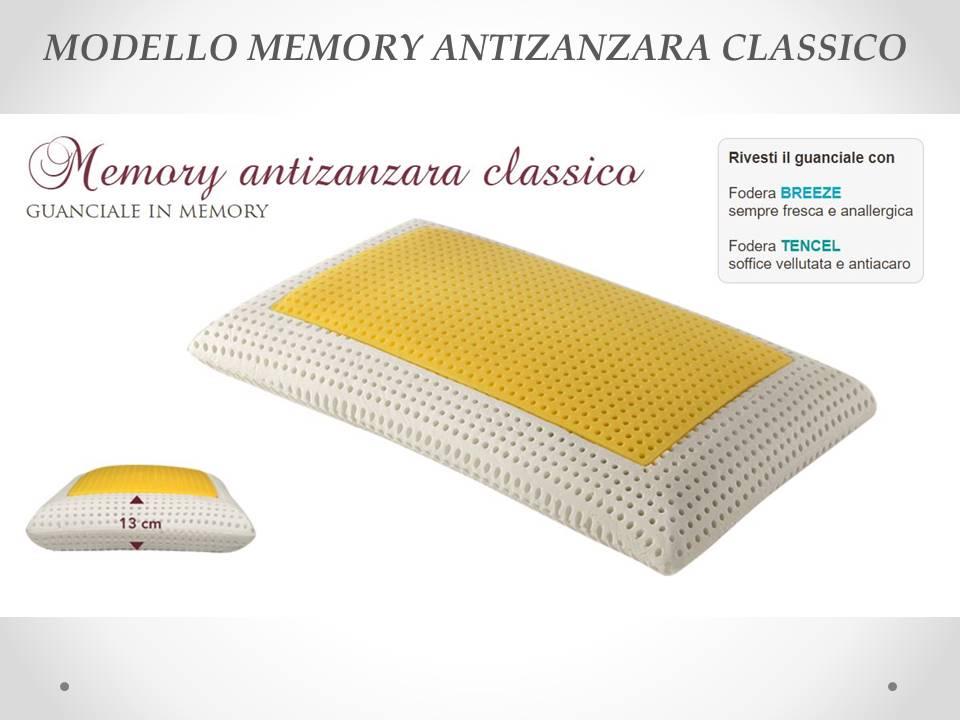 Guanciale Memory antizanzara Sogno Veneto